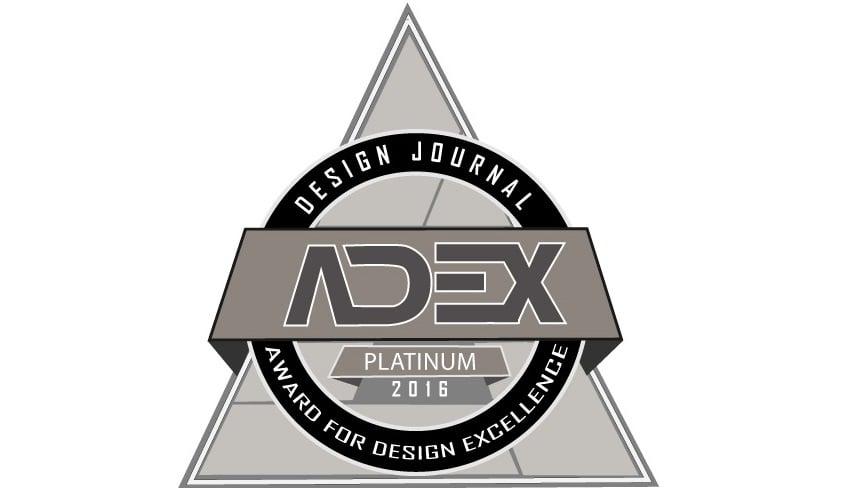 AirTempo Steam Shower ControlWins Platinum ADEX Award for Design Excellence