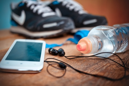 workouts are easier with music and steamtherapy