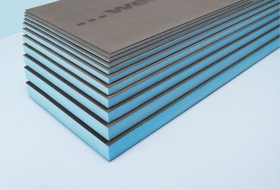 wedi® board is a waterproof, rigid foam tile substrate and building panel
