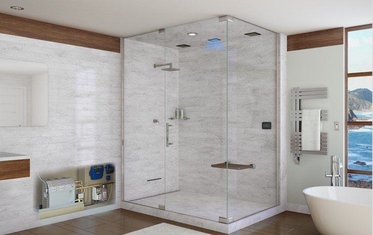 When Installing A Home Steam Shower