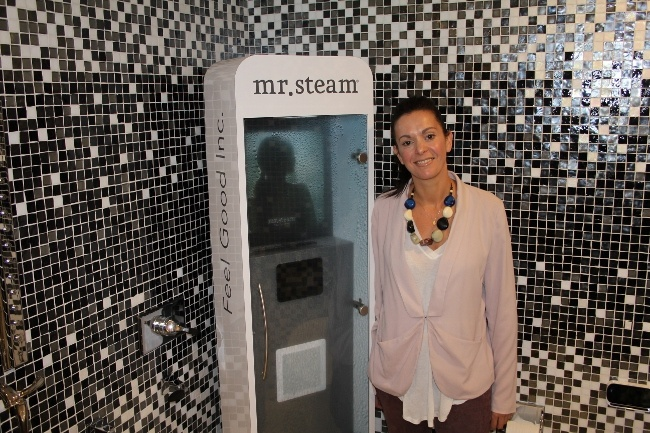 Hajoca Solana Brings Wellness to California with Steam Showers