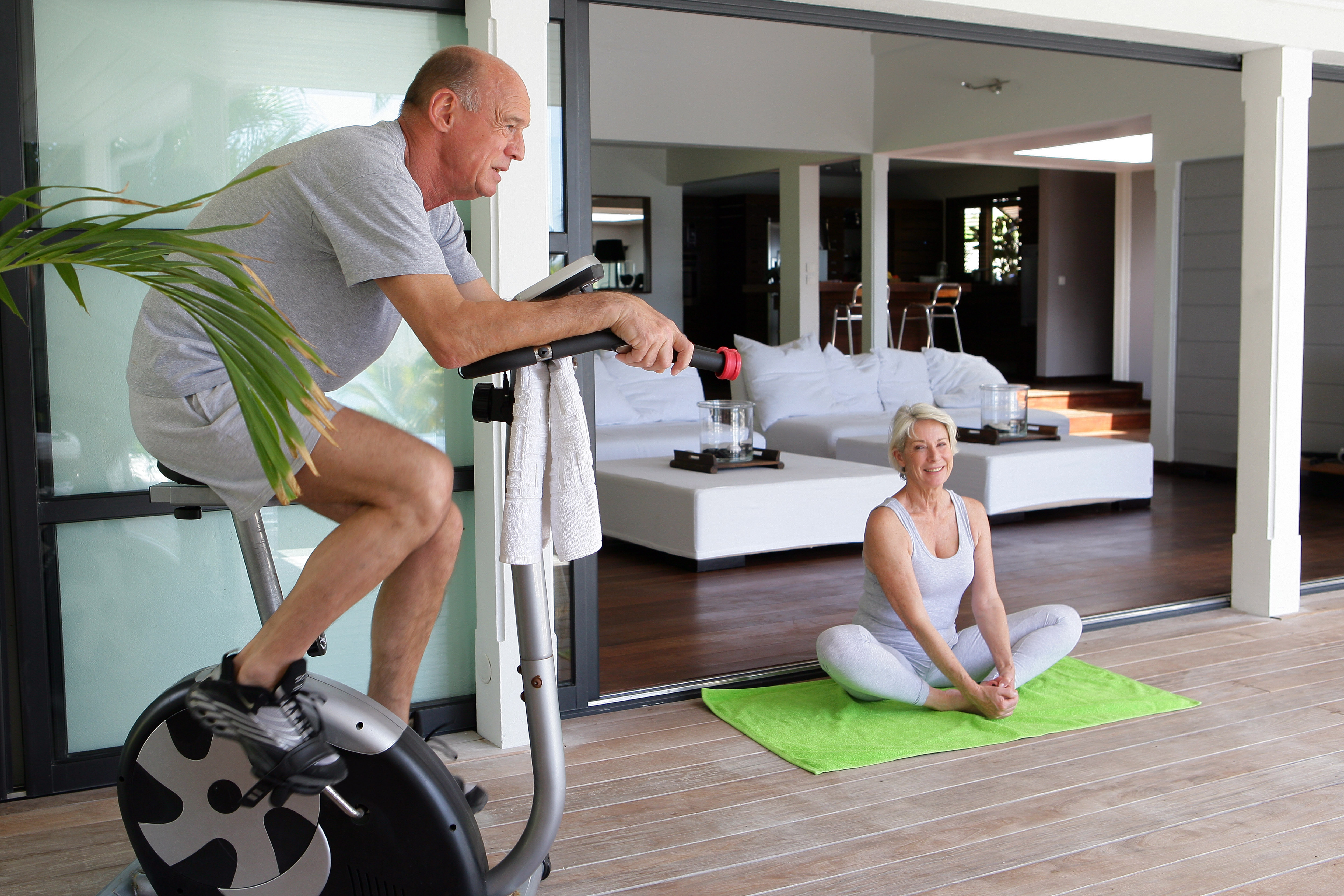 Bringing the Fitness Studio Home—with MrSteam